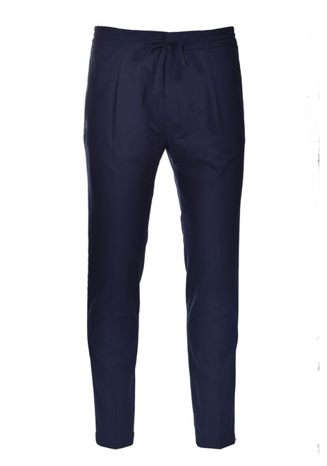 Trousers with elastic and pleats PAOLO PECORA | Pants | B011-00546685