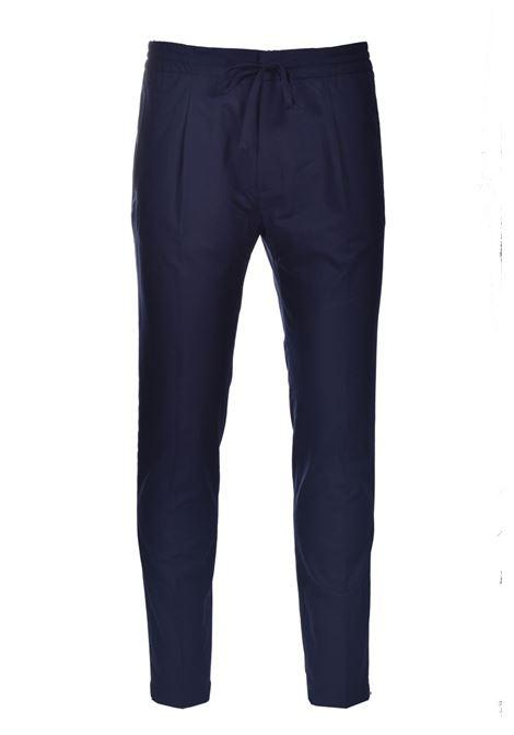 Pantalone con elastico e pinces PAOLO PECORA | Pantaloni | B011-00546685