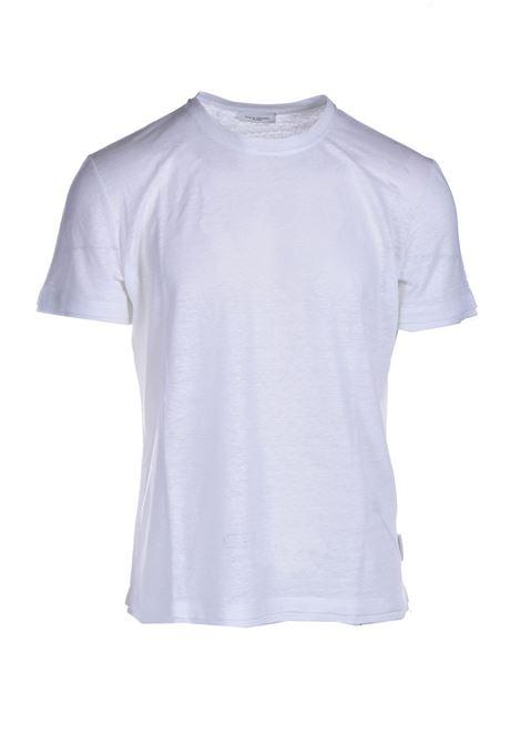 T-shirt in jersey di lino slub PAOLO PECORA | T-shirt | F011-48481101
