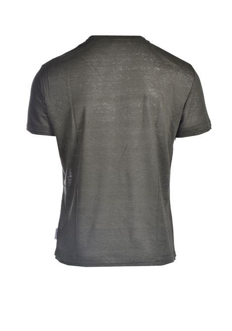 T-shirt in jersey di lino slub PAOLO PECORA | T-shirt | F011-48485326