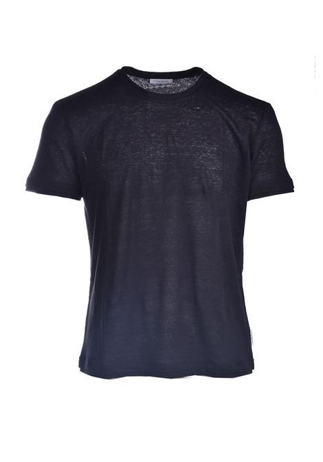 T-shirt in jersey di lino slub PAOLO PECORA | T-shirt | F011-48489000