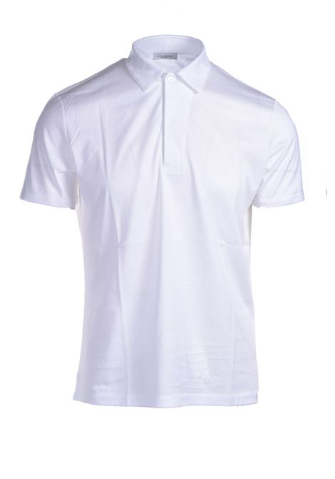 Cotton jersey polo shirt PAOLO PECORA | Polo Shirt | F051-40541101