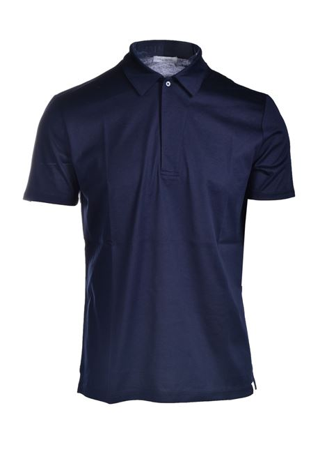 Cotton jersey polo shirt PAOLO PECORA | Polo Shirt | F051-40546685