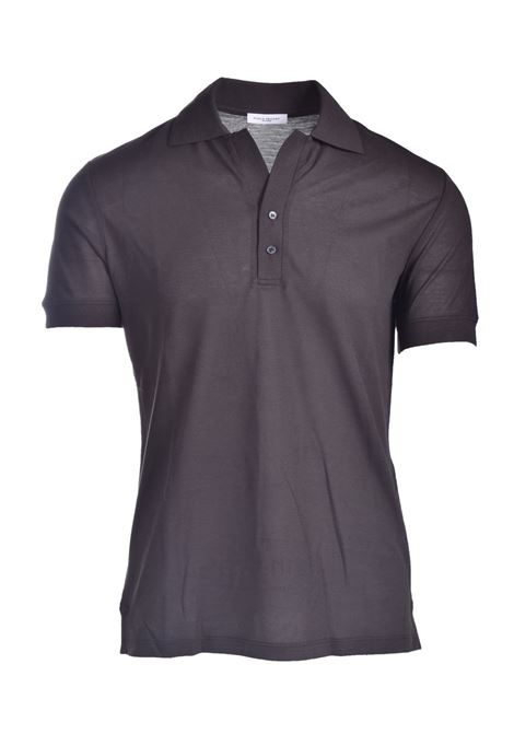 Lightweight cotton jersey polo t-shirt PAOLO PECORA | Polo Shirt | F111-41382358
