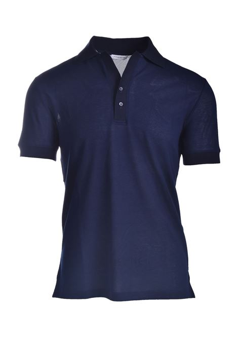Lightweight cotton jersey polo t-shirt PAOLO PECORA | Polo Shirt | F111-41386685