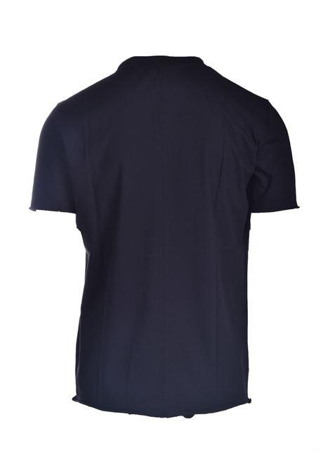 T-shirt in jersey di cotone in taglio vivo PAOLO PECORA | T-shirt | F131-41699000