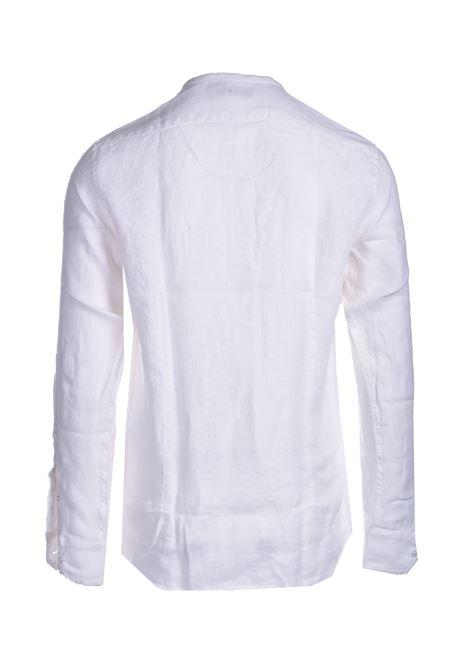 Linen shirt with Korean collar PAOLO PECORA | Shirts | G071-36061101