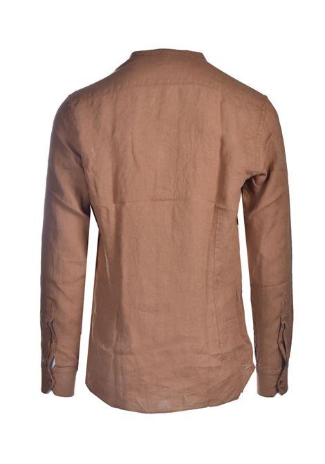 Linen shirt with Korean collar PAOLO PECORA | Shirts | G071-36061181