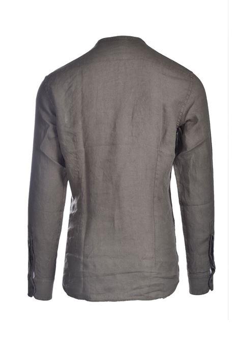 Linen shirt with Korean collar PAOLO PECORA | Shirts | G071-36065326