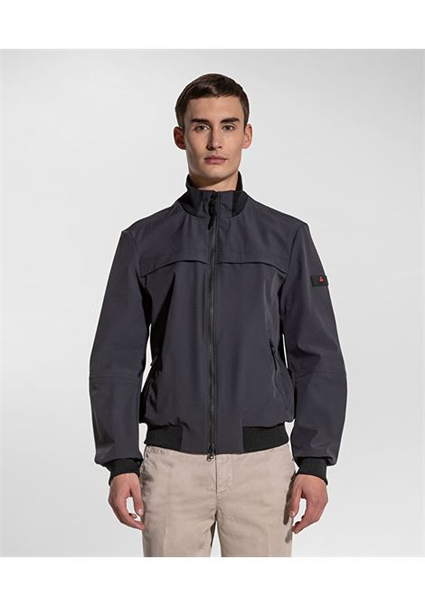 Potosi bomber regular fit in tessuto stretch blu grafite PEUTEREY | Giubbini | PEU3928215