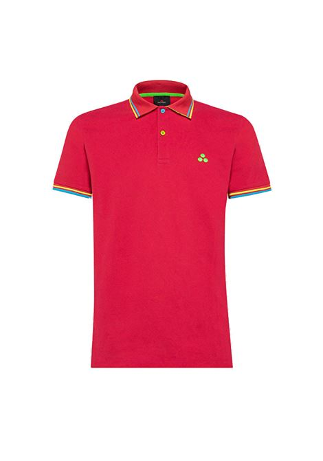 Polo New Selandina in piquet regular fit cremisi PEUTEREY | Polo | PEU3936065