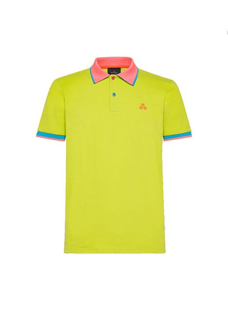 New Selandina polo shirt in regular fit lime pique PEUTEREY | Polo Shirt | PEU3936549