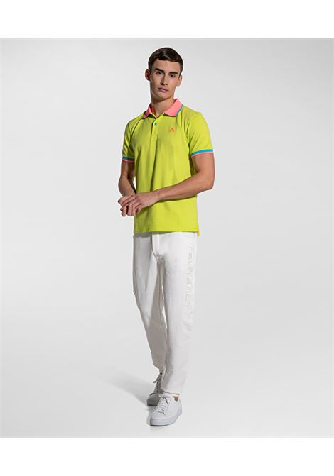 Polo New Selandina in piquet regular fit lime PEUTEREY | Polo | PEU3936549
