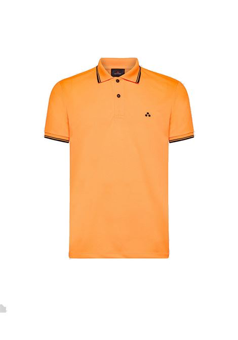Polo Beni in piquet regular fit fluo PEUTEREY | Polo | PEU3943017F
