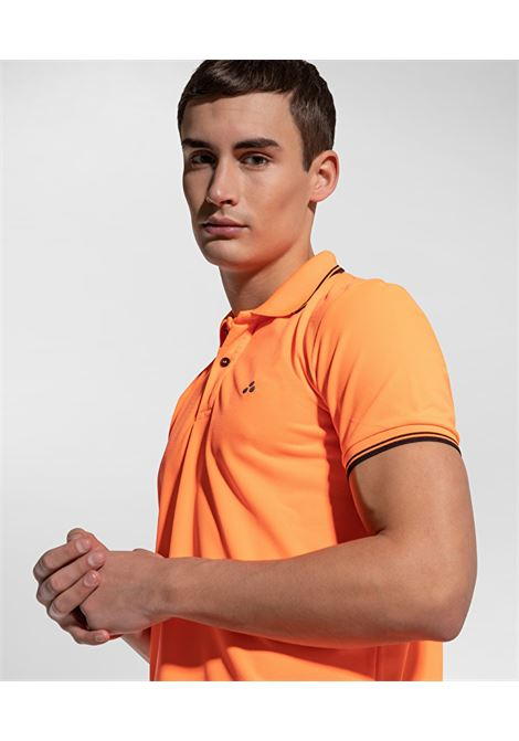 Beni polo shirt in regular fit fluo pique PEUTEREY | Polo Shirt | PEU3943017F