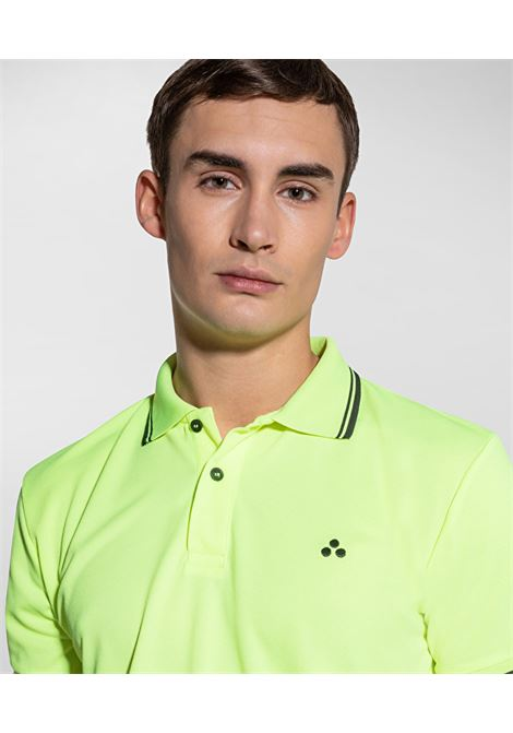 Polo Beni in piquet regular fit fluo PEUTEREY | Polo | PEU3943530