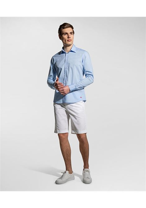 Light blue stretch cotton shirt PEUTEREY | Shirts | PEU3947231