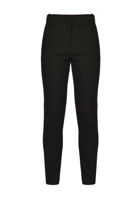 Pantaloni a sigaretta effetto scuba nero PINKO | Pantaloni | 1G15LF-5872Z99