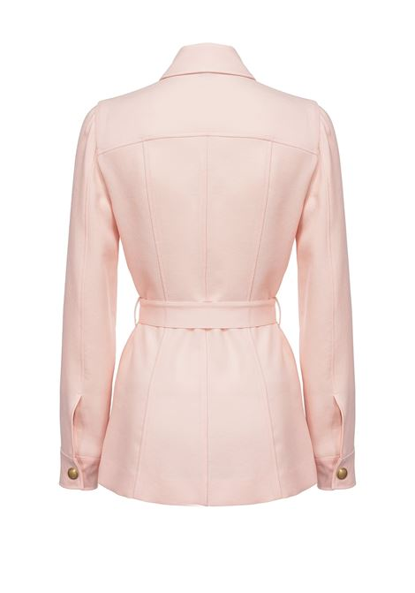 Peach-colored sablé shirt jacket PINKO | Blazers | 1G15LV-8386O72
