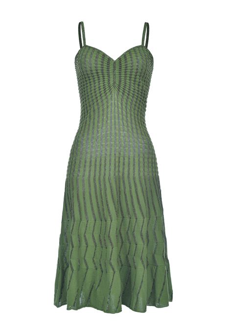 Midi dress in lurex knit with thin straps PINKO |  | 1G15SP-Y6TQXA3