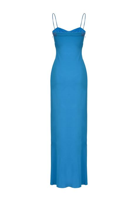 Long fitted dress with thin straps PINKO |  | 1G15VM-Y6X3G32