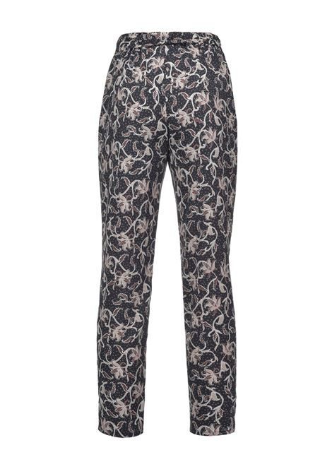 Crepe trousers with remage print PINKO | Pants | 1G15YQ-8461IC2