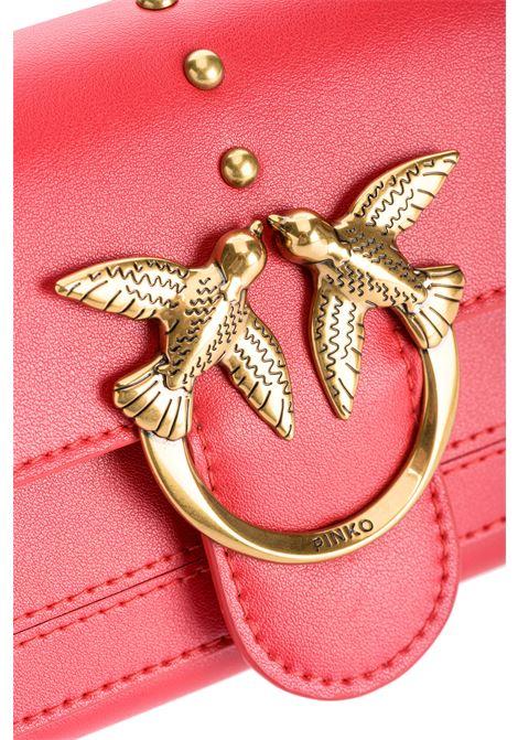 Love simply wallet with shoulder strap PINKO | Wallet | 1P221Y-Y6XTR43