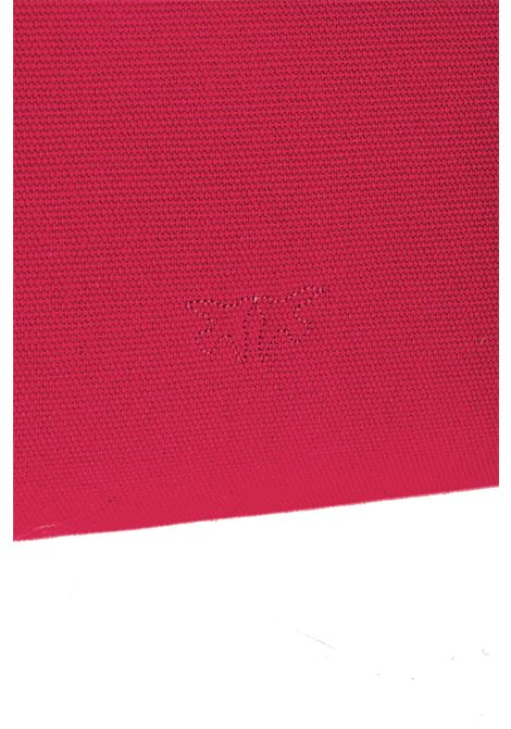Shopping bag Horizontal big in canvas riciclato PINKO | Borse | 1P224D-Y6YKO96