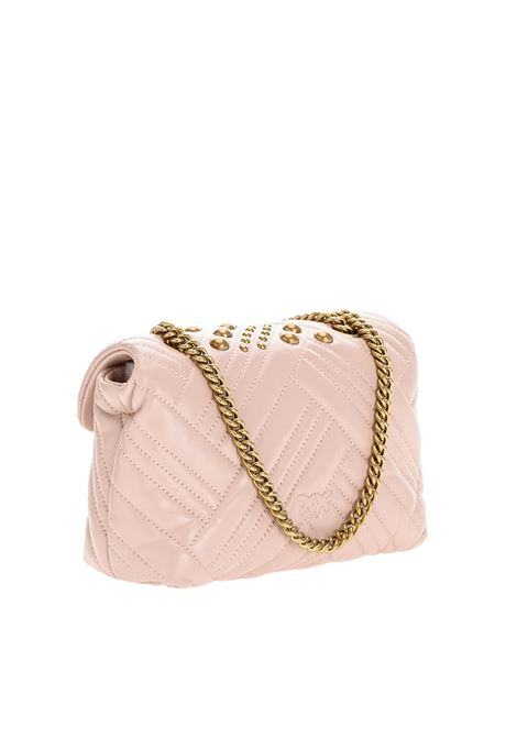 Mini Love puff woven studio PINKO | Crossbody bags | 1P2259-Y6YWO81