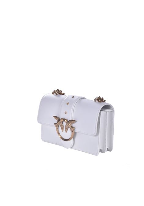 Mini Love Bag Icon Simply bianca PINKO | Borse | 1P227M-Y6XTZ14