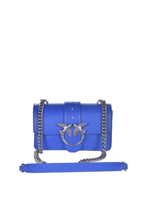 Mini Love Bag Icon Simply blu abbagliante PINKO | Borse | 1P227N-Y6XUG54