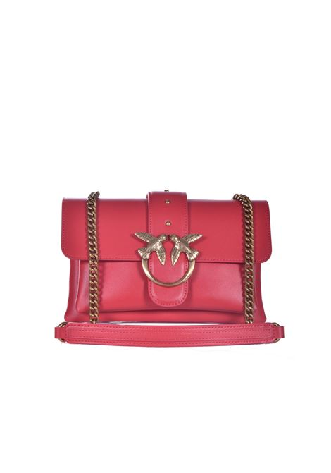 Soft Simply Mini Love Bag in pure red leather PINKO | Bags | 1P2288-Y6XTR43