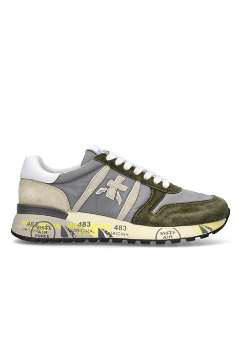 snreaker Premiata uomo LANDER 5195 in pelle scamosciata PREMIATA | Sneakers | LANDER5195
