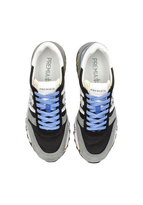 snreaker Premiata uomo LANDER 5196  in pelle scamosciata PREMIATA | Sneakers | LANDER5196