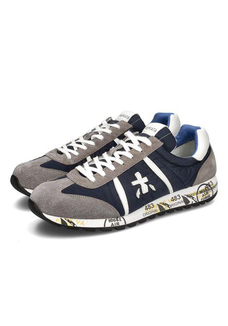 sneaker Premiata uomo LUCY 600E  in camoscio PREMIATA | Sneakers | LUCY600E