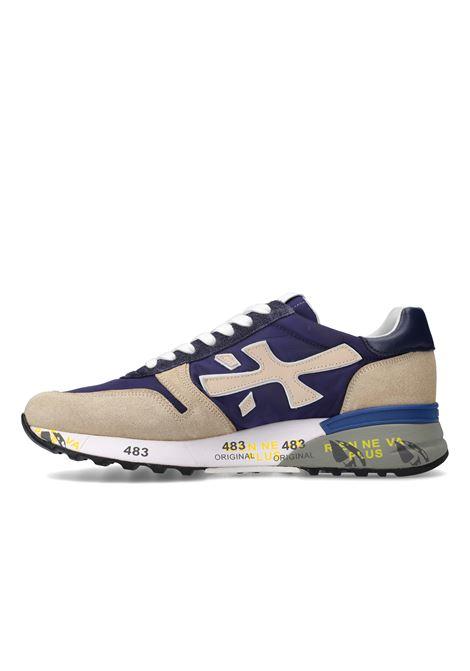 sneakers Premiata  uomo MICK 5187  in camoscio PREMIATA | Sneakers | MICK5187