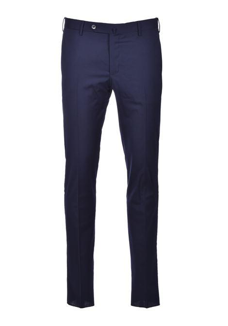 Pantalone Traveller skinny in misto lana - blu scuro PT TORINO | Pantaloni | CO-KSTVZ00TVN-PO350360
