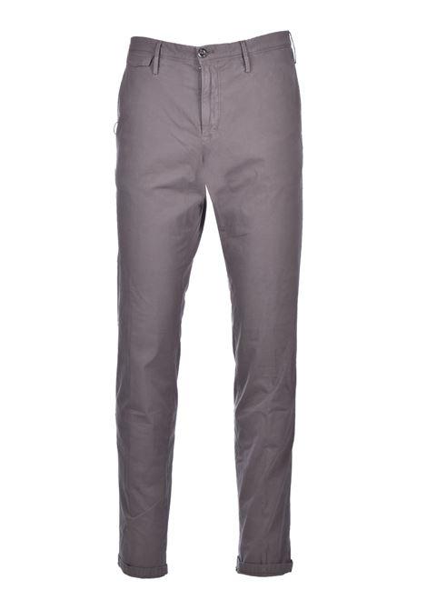 Chino in cotone elasticizzato - fango PT TORINO | Pantaloni | CO-TTSAZ10WOL-NU060120