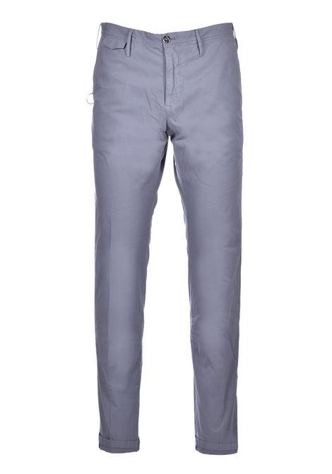 Chino in cotone elasticizzato - grigio PT TORINO | Pantaloni | CO-TTSAZ10WOL-NU060230
