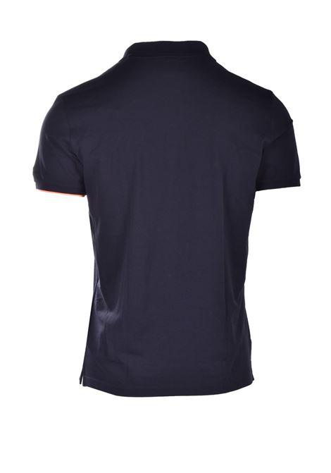Macro Polo - Polo shirt in pique jersey with contrasts RRD | Polo Shirt | 2116610