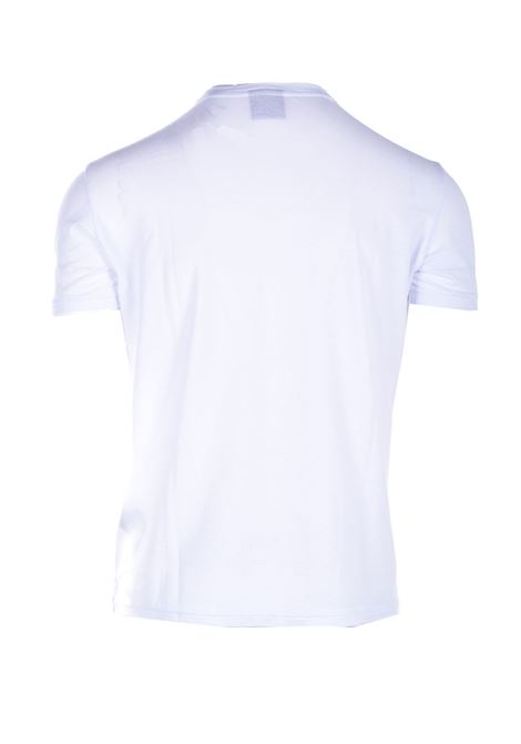 T-shirt in crepe di cotone bianco RRD | T-shirt | 2116709