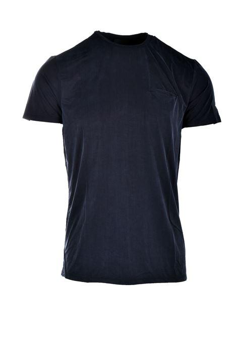T-shirt in cupro nero con taschino RRD | T-shirt | 2117010