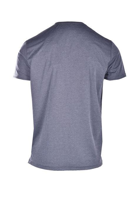 T-shirt chambry in tessuto tecnico con taschino RRD | T-shirt | 21172V06