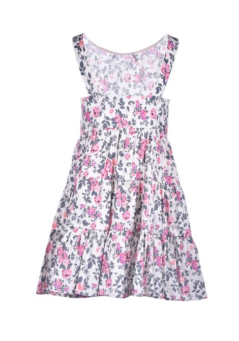 Armhole dress with flounces and floral print SEMICOUTURE |  | Y1SR03FAN54