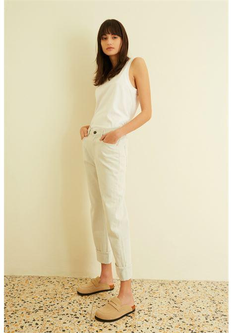 Jeans flare con risvolto SEMICOUTURE | Jeans | Y1SY15M21