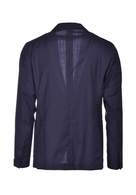 abito da uomo in fresco lana slim fit - blu scuro TAGLIATORE | Abiti Uomo | A-DAKAR22K11 12UPZ236B085