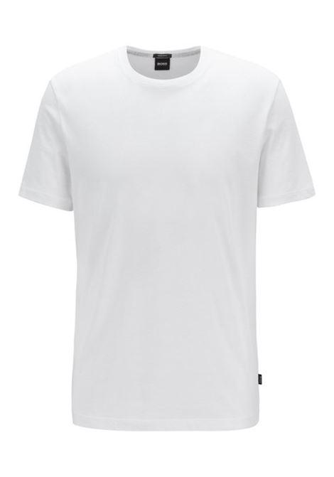 Regular fit T-shirt in soft cotton BOSS | T-shirts | 50379310100