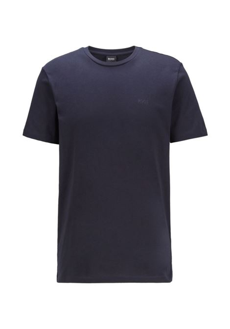 T-shirt a girocollo in jersey tinto in filo BOSS | T-shirt | 50385281402