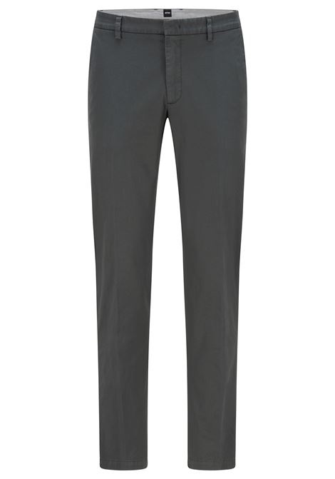 Slim fit chinos in stretch cotton gabardine BOSS | Pants | 50410310301