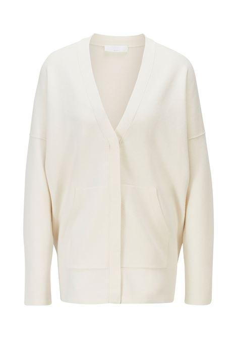 Oversized cardigan with hidden closure BOSS | Knitwear | 50453960118